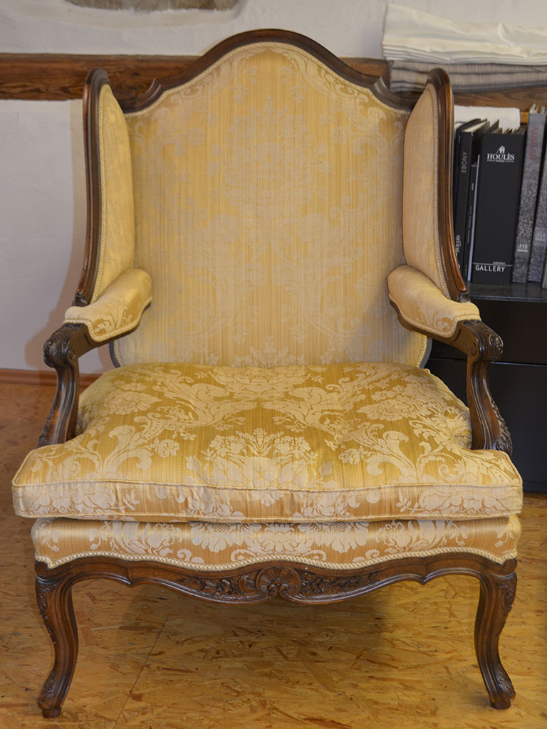 Wohnfühlung Stuhl Vorher