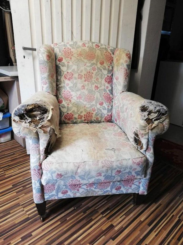Sessel von Wohnfühlung Vorher